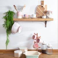 Pastel Green Stoneware Baking Dish | Home Accessories